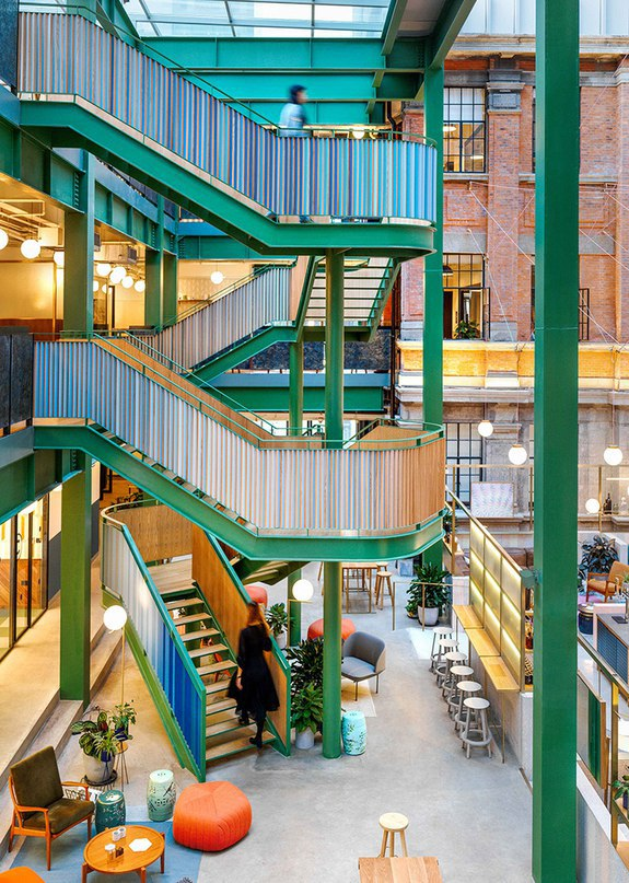 linehouse transforms former opium factory into WeWork