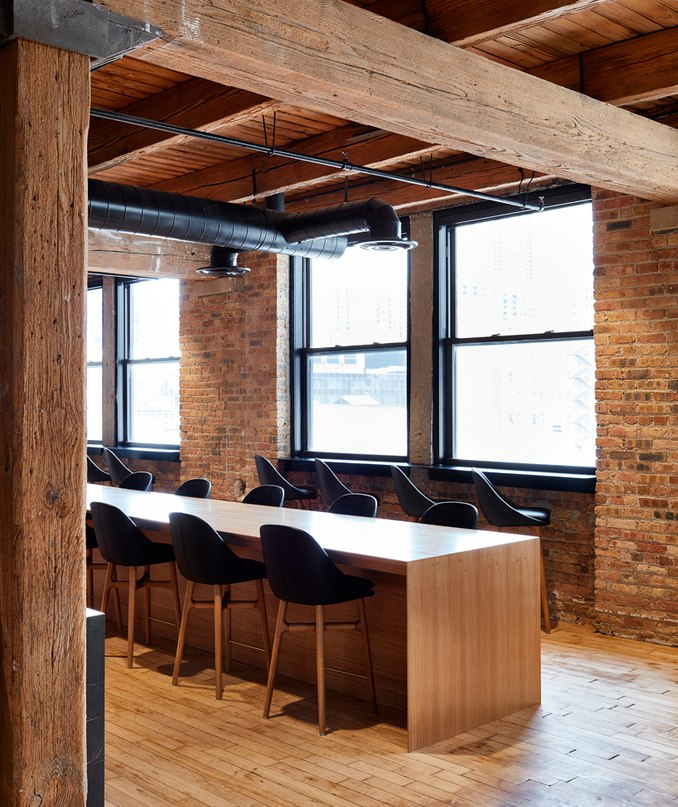 those architects develop spacious loft-like office for