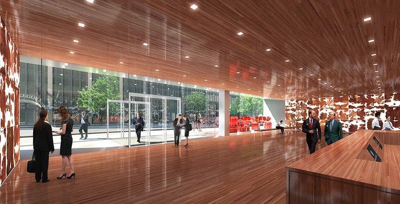 Архитектурное бюро REX из Нью-Йорка разработали проект