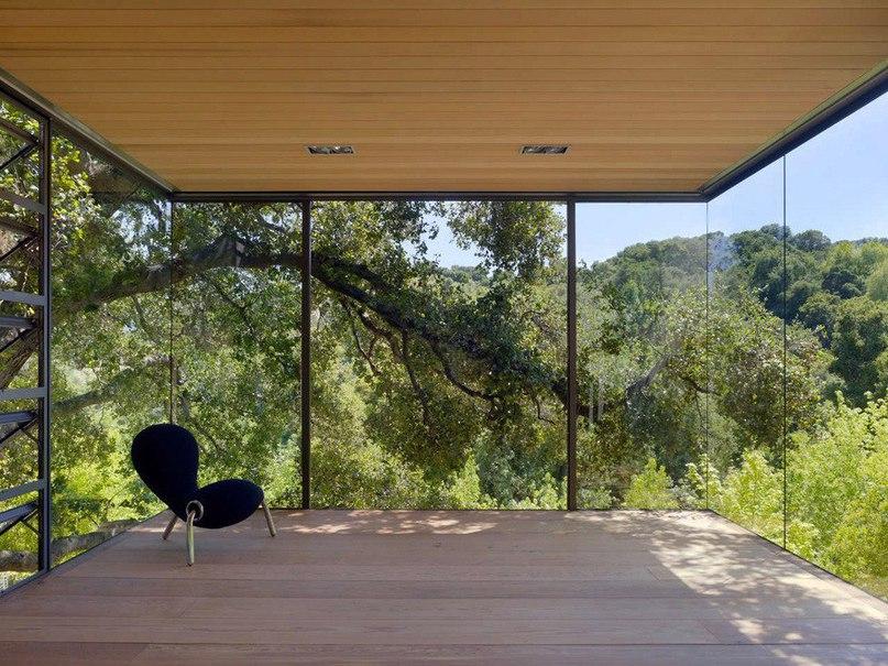 Tea Houses – стеклянные пристройки к частной