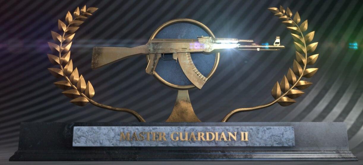 CS: GO Звание (Master Guardian 2)