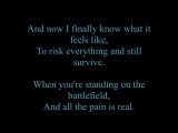 Papa Roach - Leader of the Broken Hearts (Lyrics)