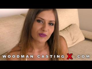 2017 Mina Sauvage DP anal hardcore WoodmanCastingX woodman  natural tits порно porno секс sex