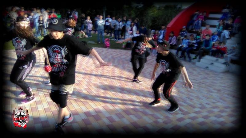День Молодёжи в Ново-Переделкино.Танцевальная школа ДРАЙВ-2017