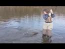 Девушки на рыбалке - Угарные приколы! рыбалка, большая рыба, катушка, приманка, блесна, воблер, твистер, проводка, спиннинг
