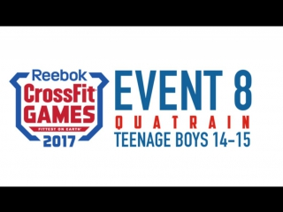 Quatrain teen boy 14-15 Crossfit Games 2017