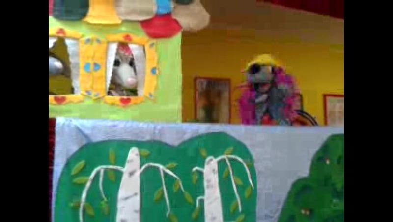 Кукольный театр. Самый маленький гном.