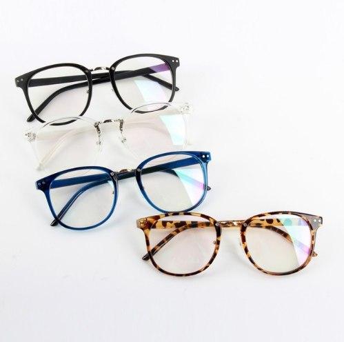 Модные очки с обычным стеклом