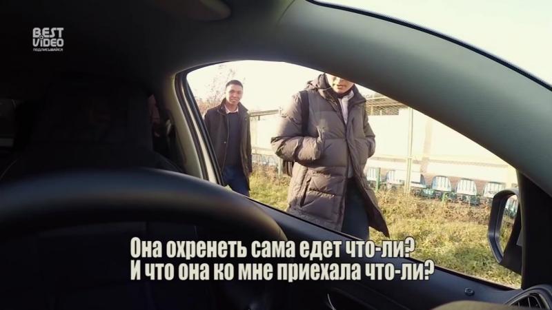 Автомобиль едет без водителя в Алматы
