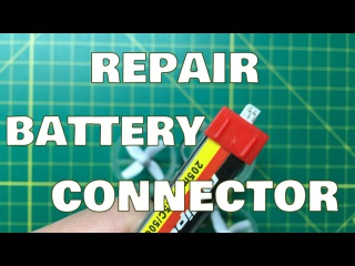 How to (and Why We Need to) Fix Tiny Whoop Lipo Battery Connector/Plug