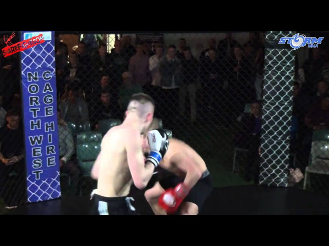 John James Young VS Joe Boardman - STORM MMA - ShareFight.com