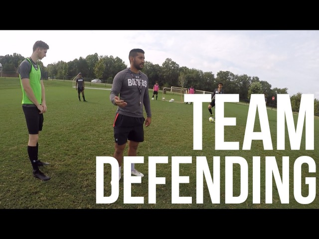 Inside Preseason - Defensive Session - Division 1 Men's Soccer