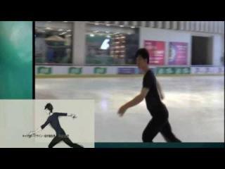 中国のフィギュアスケート選手陳沛佟さんが「Yuri!!!On ICE 」OP History Maker 滑って1
