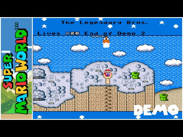 The Legendary Bros. (Demo 2) (2016) | Super Mario World Hack