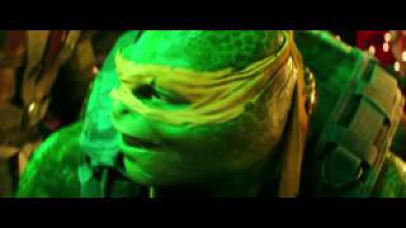 Teenage Mutant Ninja Turtles: Out of the Shadows (2016) - Shredder's Escape Scene