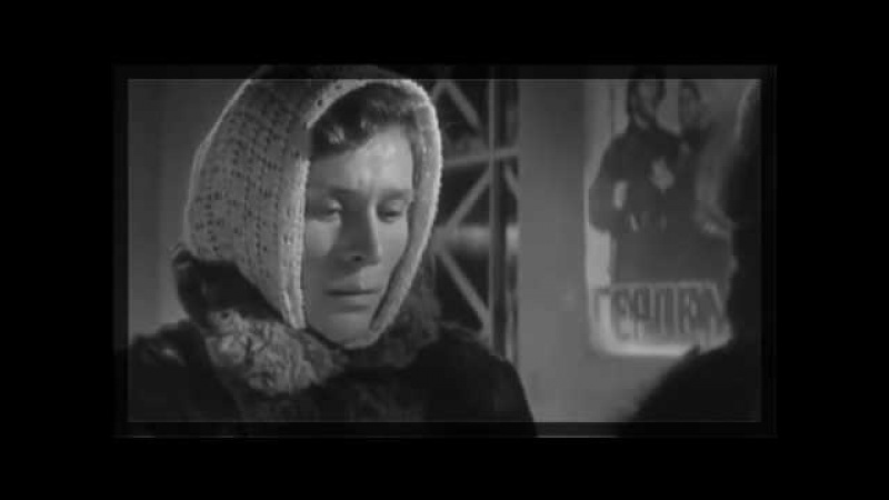 ЗИМНЕЕ УТРО Военный фильм СССР о блокадном Ленинграде Очень правдивый