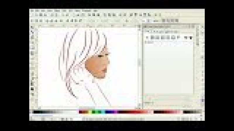 Tutorial Simple Art Vector Using Inkscape