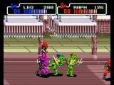 Teenage Mutant Ninja Turtles The Hyperstone Heist 2 player Netplay Sega Genesis