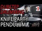 DUBSTEP VS Drum'n'Bass - MASHUP of Pendulum &amp Knife Party - DRUM REMIX  by Adrien Drums
