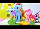 Juguetes de Little Pony. Juegos para niñas pequeñas. Vídeos infantiles.
