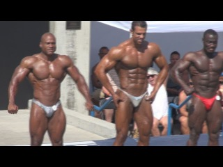 Men's Overall Winner at Muscle Beach 7/4/13