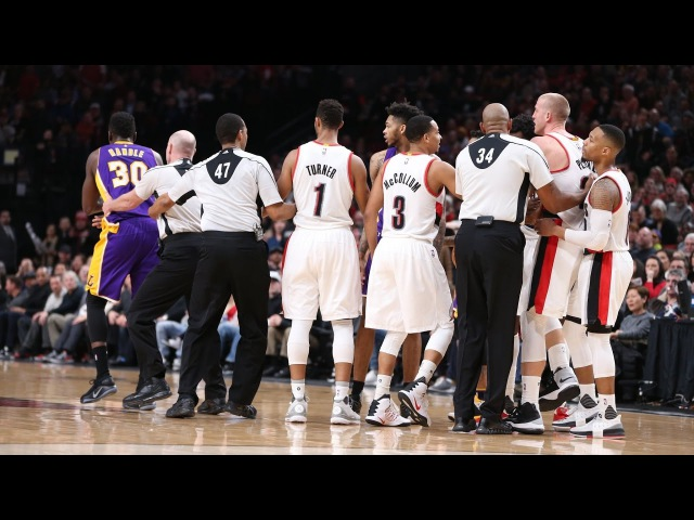 Los Angeles Lakers vs Portland Trail Blazers - Full Highlights | Jan 5, 2017 | 2016-17 NBA Season