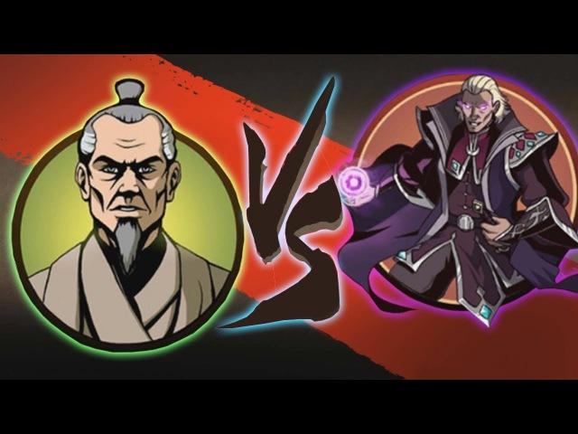 Shadow Fight 2 Special Edition - Бой с Князем и Сегуном - Старые Раны - Финал!