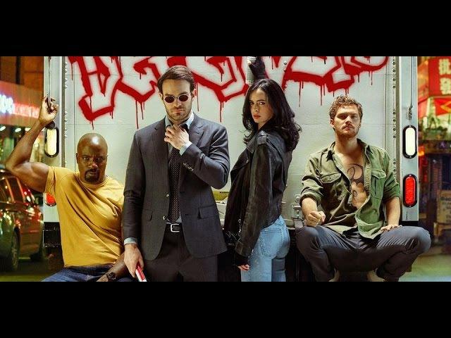 Защитники - Официальный Русский трейлер Netflix / The Defenders