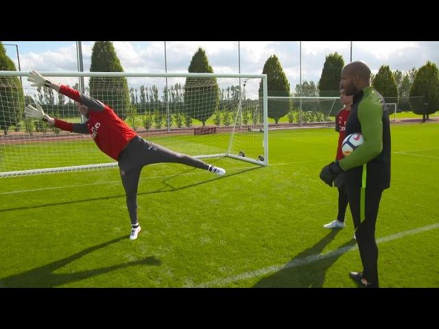 Petr Cech Goalkeeping Masterclass 👐