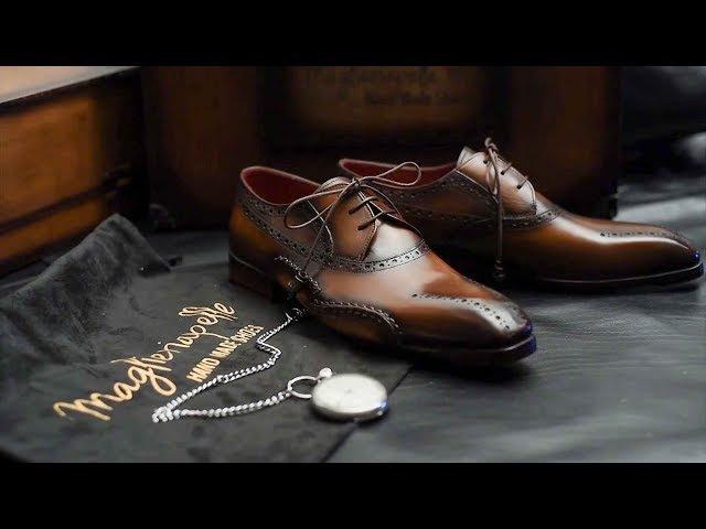 Handcrafting Premium Men's Shoes Maglieriapelle