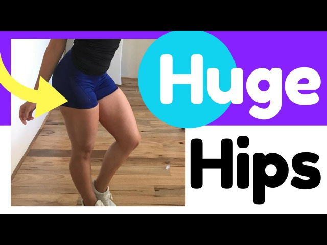 4 Exercises For Wider Hips by Taylor Nelles (How To Get Rid Of Hip Dips Fast)