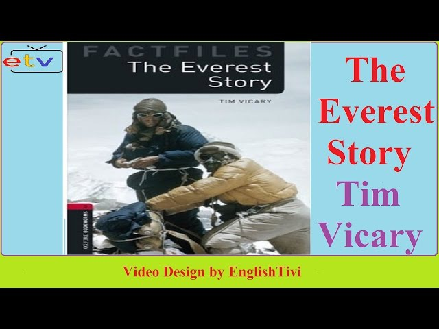 Learn English Through Story ● The Everest Story - Tim Vicary -- Elementary Level ✔