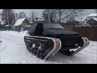 ВАЗ 2108 с ДВС ЗМЗ 4.7k V8. КПП, РКП — УАЗ