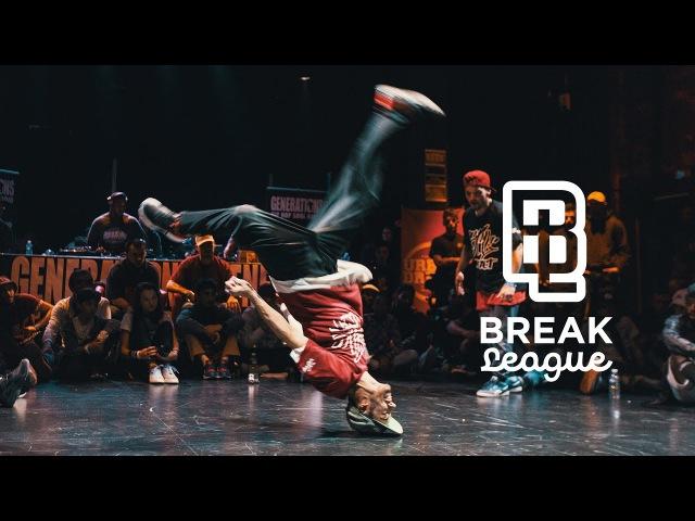BREAKLEAGUE J2 - CITC - 1/2 - Still Contact Vs Yeah Yellow - Pro Breaking tour