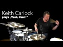 "Keith Carlock plays Oz Noy's ""Yeah Yeah"" at OnlineLessons"