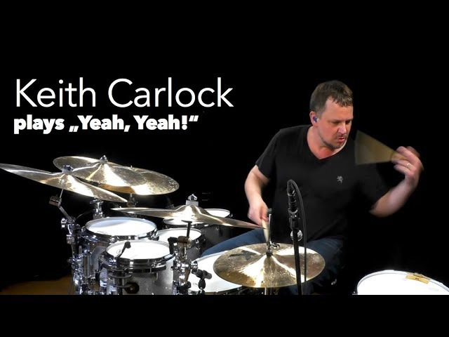 """Keith Carlock plays Oz Noy's """"Yeah Yeah"""" at OnlineLessons.tv"""