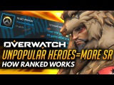 Overwatch  Popular Heroes Gain LESS SR - How Ranked Works