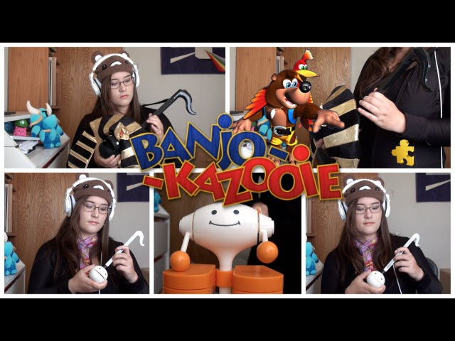 Banjo-Kazooie: Gobi's Valley - Otamatone Mr. Knocky Cover || mklachu