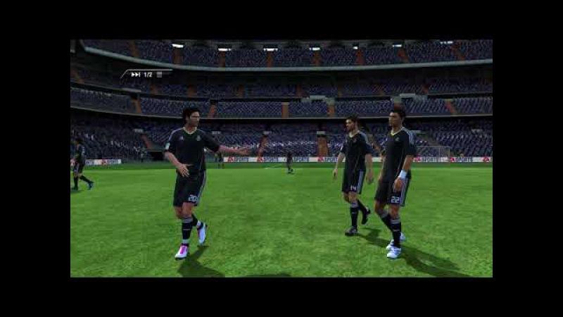 FIFA 11. Gladiator (Real Madrid, Manchester City) vs Palka Palych (Inter Milan, Barcelona)