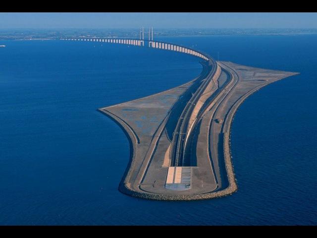 Megastrutture, il ponte Øresund diventa un tunnel che dalla Danimarca porta alla Svezia