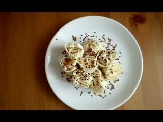 Полезный десертик.Сладкий ролл для сладкоежек