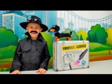 Детектив Даник и набор для маленького Детектива. Дело №1 Похищения Барбоса. Detectives Toolkit