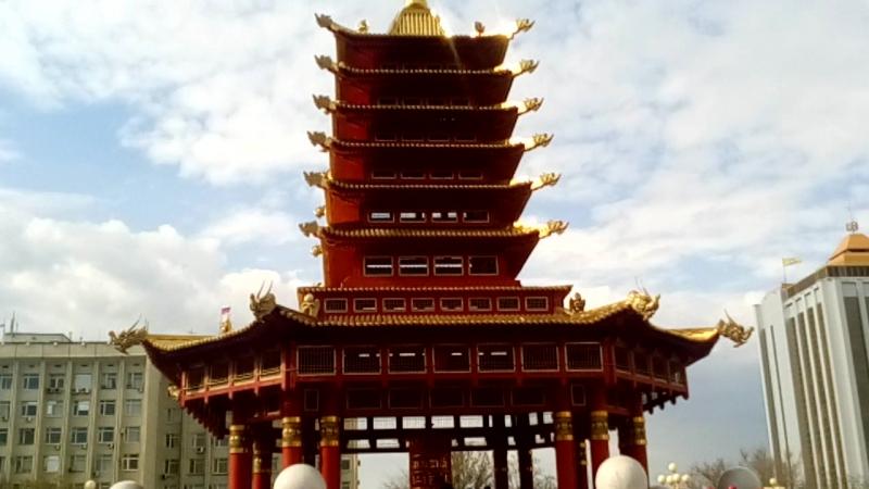 Пагода Семи Дней. Элиста.