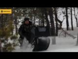 Baltmotors_ тест-драйв мотособак в глубоких снегах
