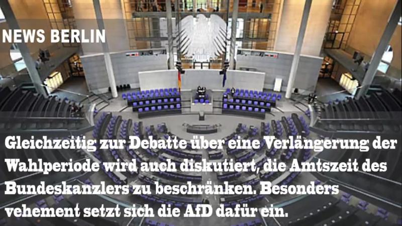 AfD wirkt Bundestag - Nach zehn Jahren soll Schluss sein mit der Kanzlerschaft