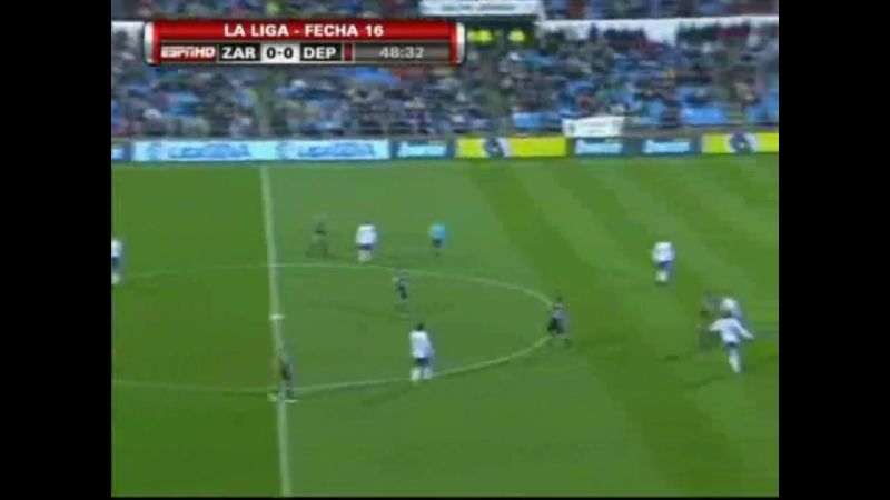 2010 01 03 Liga 16 Real Zaragoza - Deportivo de la Coruña