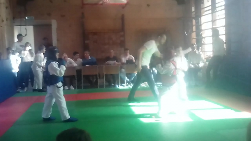 Первый показательный бой Арсенича ! Армейский рукопашный бой
