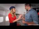 порно видео стюардессы СТЮАРДЕССА ОБСЛУЖИВАЕТ ПАССАЖИРА ЛЕТЯЩЕГО ПЕРВЫМ КЛАССОМ секс в самолете минет жесткое порно