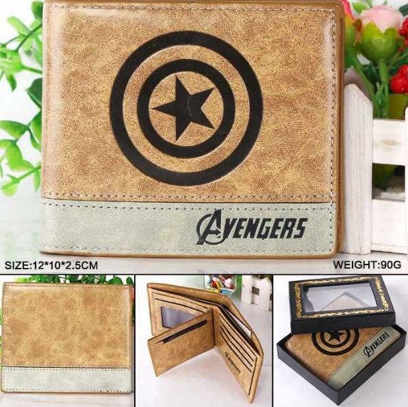 Бумажник в стиле Avengers
