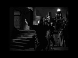 Черная стрела (1948). Ночной бой в замке